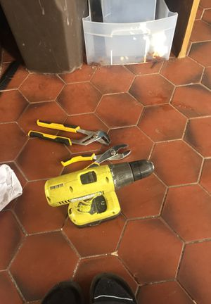 Cordless Drill Driver wit additional tools for Sale in West Palm Beach, FL