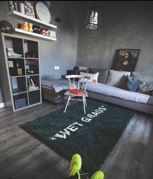 "Ikea x Virgil abloh ""Wet Grass"" rug for Sale in Las Vegas, NV"