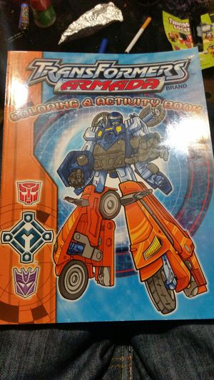 Vintage transformer coloring books for Sale in Spokane, WA