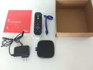 Roku 3 Streaming Player (4200X) - Black With Remote, Power & Instructions for Sale in Delray Beach, FL