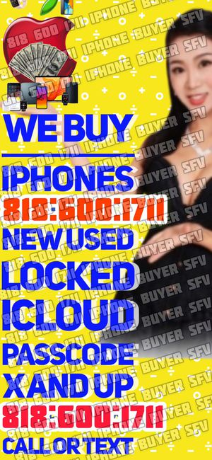 iPhone X iCloud 11 pro max xr xs max NEW USED phone NEW SEALED iPad WiFi Apple Watch series 5 cellular MacBook for Sale in Tujunga, CA