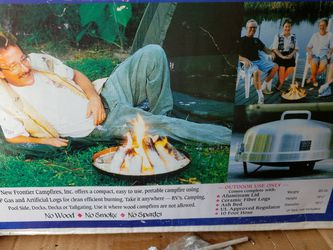 Portable Gas Logs For Camping for Sale in St. Petersburg,  FL