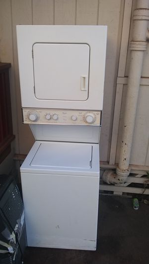 Whirlpool stackable washer and dryer for Sale in Wahiawa, HI
