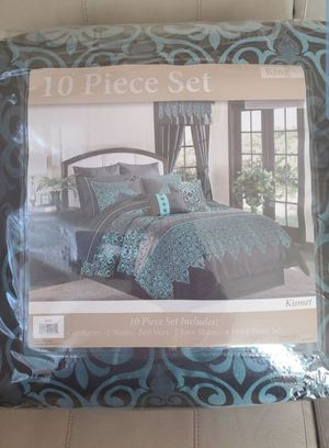 10 Piece Set King Size for Sale in Schaumburg, IL
