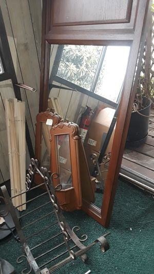 Mirrors with dark wood. for Sale in Fremont, CA