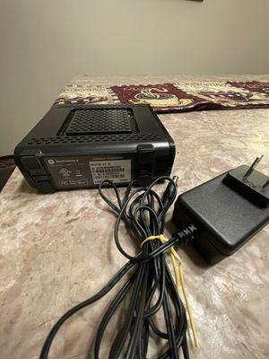 Motorola surfboard modem. Model # 5b6121 for Sale in Lake Oswego, OR