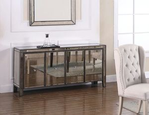 T1920 Antique Mirrored SideBoard for Sale in Mount Hope, KS