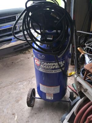 25 gallon Campbell haussfeld air compressor for Sale in Oklahoma City, OK