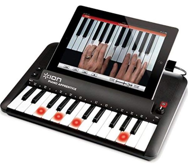 ION Audio PIANO APPRENTICE 25-note Keyboard for iPad, iPod and iPhone