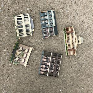Vintage folk art buildings for Sale in Brunswick, OH