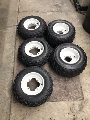 Banshee wheels and tires for Sale in Rancho Palos Verdes, CA