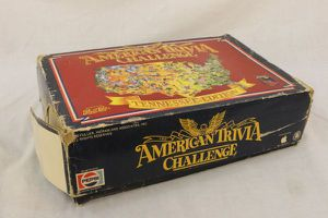 Vintage American Trivia Challenge Tennessee Edition Pepsi-Cola 1986 Board Game for Sale in Chattanooga, TN