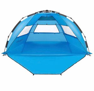 Brand New Pop Up Beach Tent - Easy to Set Up, Portable Beach Shade with UPF 50+ UV Protection for Kids & Family POP UP BEACH TENT - Raise in seconds for Sale in Imperial, MO