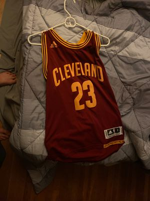 2016 lebron James jersey size small for Sale in Gresham, OR