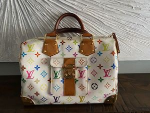 LV authentic multicolor speedy 30 for Sale in Columbia, MD