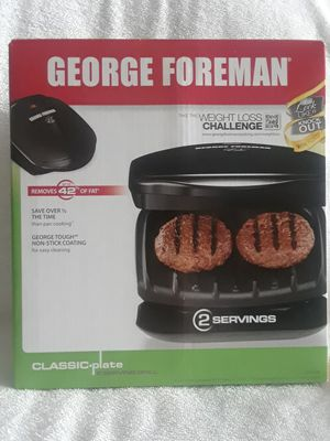 George Foreman 2 serving grill for Sale in Southwest Ranches, FL