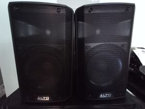 "ALTO TX210 10"" speakers with covers for Sale in Powder Springs, GA"