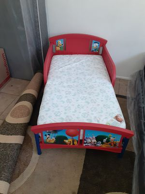 Mickey Mouse Toddler bed for Sale in Long Beach, CA