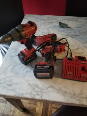 M18 18-Volt Lithium-Ion Cordless Combo Kit with Two Batteries, Charger for Sale in Adelphi, MD