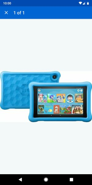 Amazon Fire HD 8 Kids Edition (8th Generation) 32 GB, Wi-Fi, 8 in - Blu for Sale in Phoenix, AZ