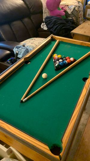 Wooden pool table for Sale in Virginia Beach, VA