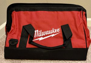 NEW m18 m12 Milwaukee tools Contractors toolbag Bag for Sale in Vancouver, WA