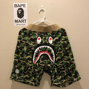Bape shark shorts camo green (fits like medium/large) for Sale in Los Angeles, CA