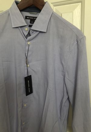 Michael Kors Mens dress shirt (new) for Sale in Laurel, MD