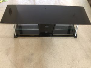 3-Tier Glass TV stand for Sale in Piedmont, CA