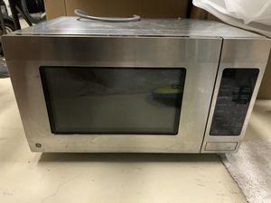 GE Stainless steel 1.6 CU FT Counter top microwave for Sale in Pompano Beach, FL