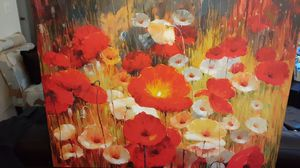 floral painting for Sale in Brick Township, NJ