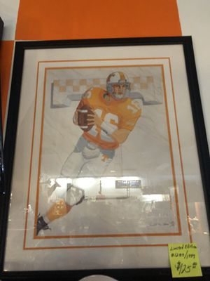 Limited edition Peyton Manning Painting for Sale in Knoxville, TN