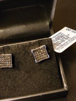 Black Diamond Earrings for Sale in Arlington,  VA