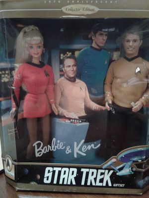 Barbie And Ken ... Star Trex Gift Set... for Sale in Everett, WA