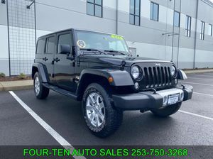 2015 Jeep Wrangler Unlimited for Sale in Bonny Lake, WA