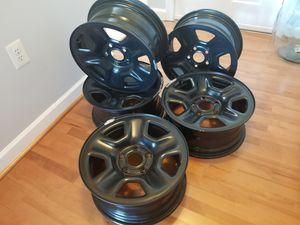 5 steel factory Rims 17 inch for Sale in Arlington, VA
