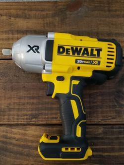 Dewalt Xr 20v Impact 1/2 1200lb Torque 🛑PRECIO FIRME NADA MENOS for Sale in Houston,  TX