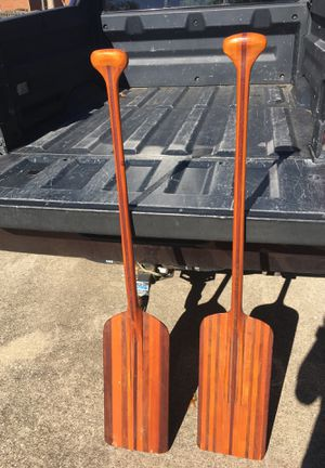 "Bent Shaft ""racing"" canoe paddles for Sale in Lexington, KY"
