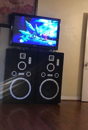 """Bosinas 15""""s marca pro audio todo jala muy bien for Sale in Dallas, TX"""