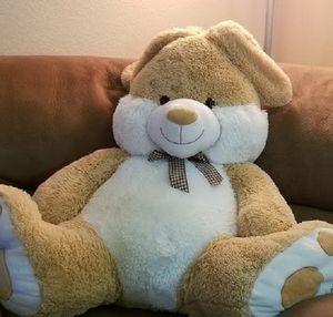 Jumbo Huge Giant Plush Stuffed Light Brown Teddy Bear for Sale in Peoria, AZ