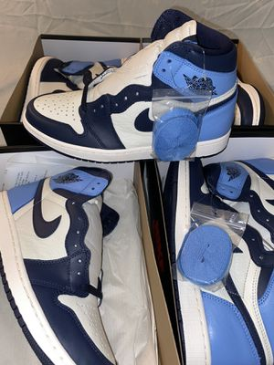 Jordan 1 Retro High Obsidian for Sale in Houston, TX