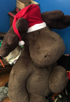 6ft Stuffed Moose for Sale in Anderson, SC
