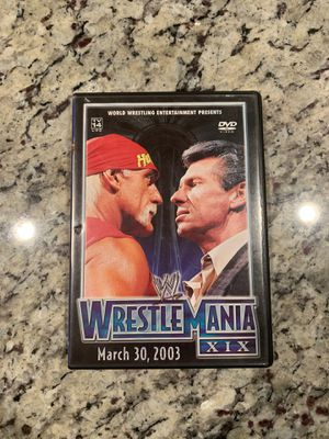 Wrestle Mania XIX 2 Disc Set for Sale in Humble, TX
