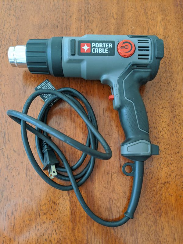 Porter Cable - Heat Gun 1500 W - used once