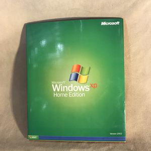Microsoft Windows XP Home Edition Version 2002 Full Install with Product Key for Sale in Seattle, WA