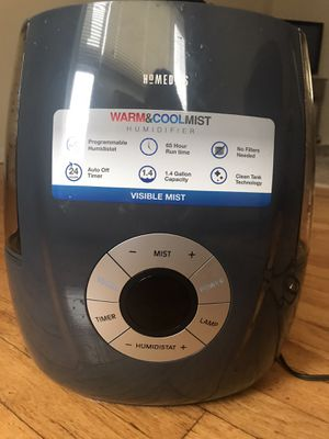 Homedics Warm & Cool Mist Humidifier for Sale in Long Branch, NJ