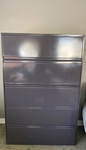Steel File Cabinet - Approx 40 wide and 60 tall for Sale in Tustin, CA