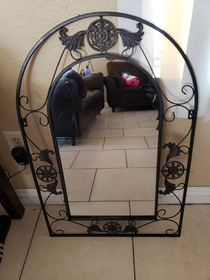 Metal frame wall mirror for Sale in Palmdale, CA