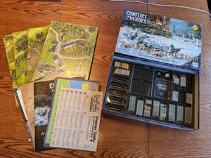 Conflict of Heroes: Awakening the Bear Board Game with expansions for Sale in Evergreen, CO