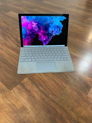 Microsoft Surface Pro 6 8TH GEN QUAD CORE i5-8250u 8gb ram 128gb ssd for Sale in Long Beach, CA